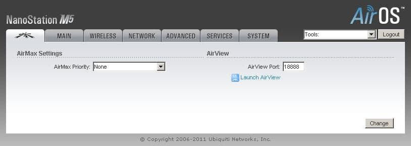 Настройка LocoM2 wifi точка доступа